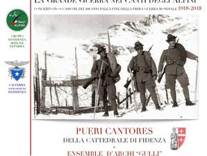 Canti Alpini al Teatro Magnani a Fidenza