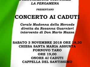 Concerto ai Caduti a Fornovo