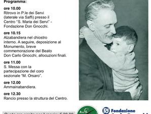 Commemorazione del Beato Don Carlo Gnocchi