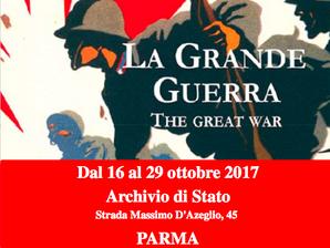Mostra della Grande Guerra all'archivio di Stato