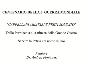 Conferenza sabato 23 giugno in Sede del Dr Fontanesi