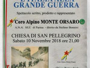 Alla chiesa di San Pellegrino va di scena il Coro Monte Orsaro