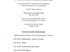 SS. Messa Solenne Domenica 18 novembre