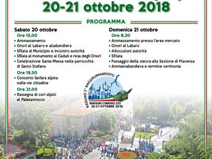 2° Raggruppamento a Mariano Comense il 20-21 ottobre