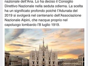 2019 Adunata Nazionale a Milano