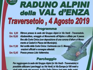 Il 4 agosto Raduno della Val d'Enza
