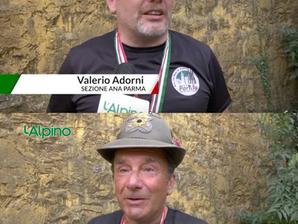 Intervista su TV l'Alpino dei nostri campioni di tiro a segno