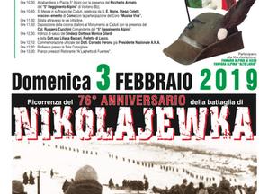 Il 3 febbraio a Colico per Nikolajewka