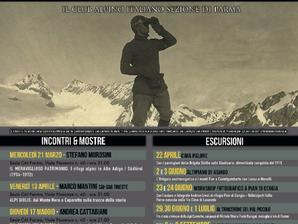 Escursioni, incontri e mostre sul ricordo della Grande Guerra con il C.A.I.
