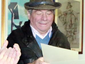 Il Consigliere Sezionale Giovanni Cav. Conforti è andato avanti