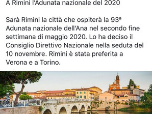 Rimini 2020, 93°Adunata Nazionale