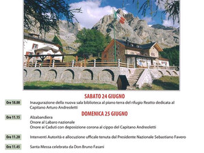 Pellegrinaggio dell'Alpino: Rifugio Contrin