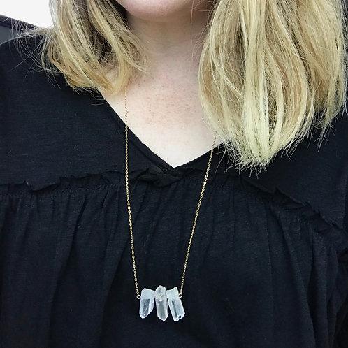 Natural Quartz Necklace
