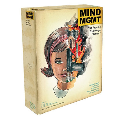 Deluxe Mind MGMT Board Game & Record (Con Pick-Up)