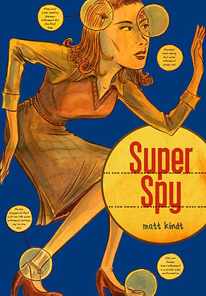 Super Spy Softcover