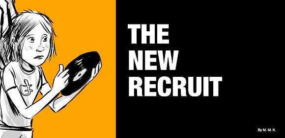 The New Recruit mini comic DIGITAL FILE