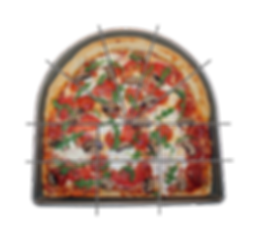 Pan Duo® The Half Round & Half Square Pizza Pan