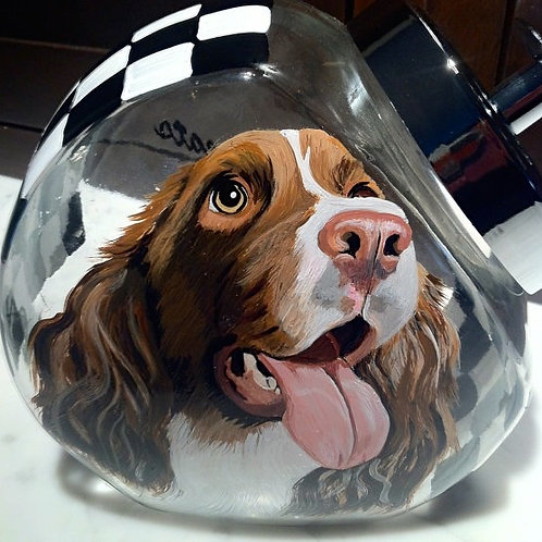 1/2 Pet Portrait Treat Jar™ (includes tax/SH)