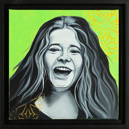 Portrait of Janis Joplin