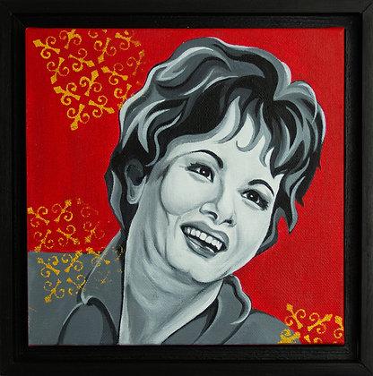 Portrait of Patsy Cline