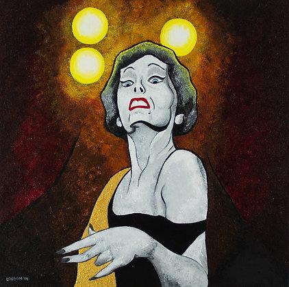 'Gloria Swanson in Sunset Boulevard'