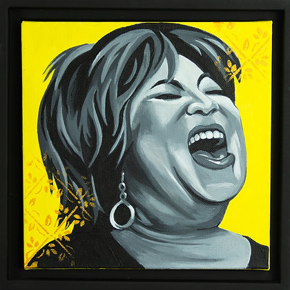 Portrait of Mavis Staples