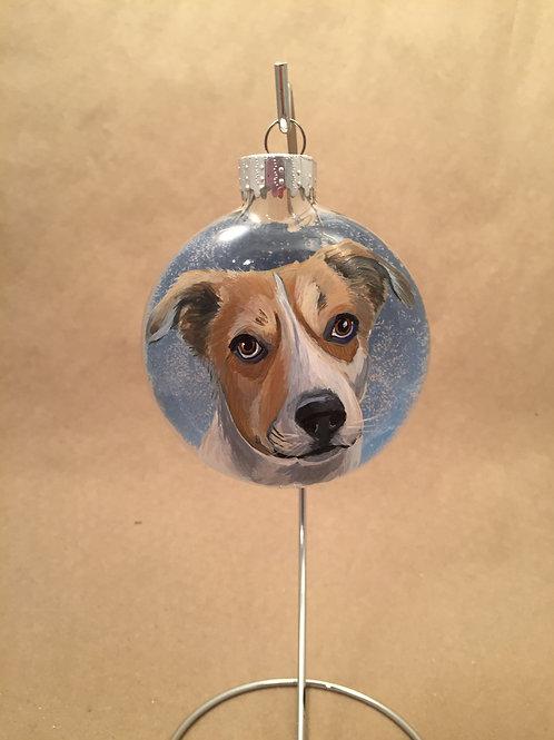 Pet Portrait Ornament (includes tax/S&H)