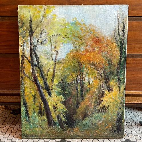 Alice Hugy Oil Painting