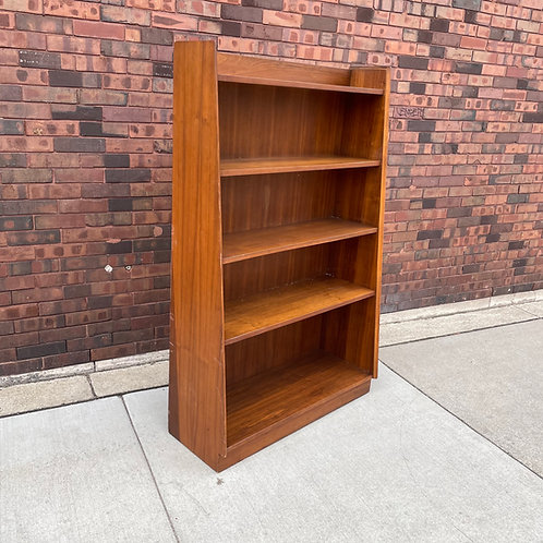 Danish Teak Open Bookcase