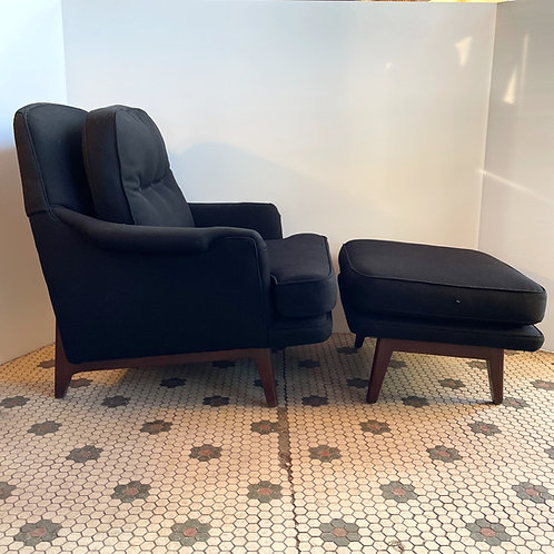 Dunbar Chair & Ottoman