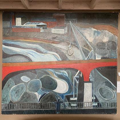 John Beauchamp Oil on Canvas