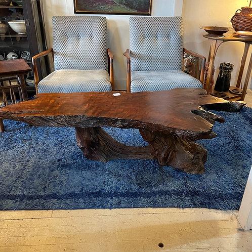 Slab Wood Live Edge Table