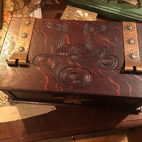 Anderson Art Metal Rohlf's Cigar Box