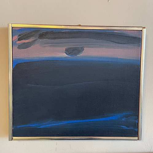 Hank (Henry) Rowan Oil Painting