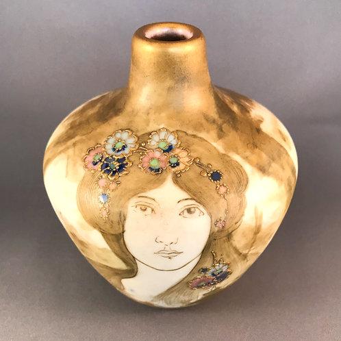 SOLD-Amphora Portrait Vase
