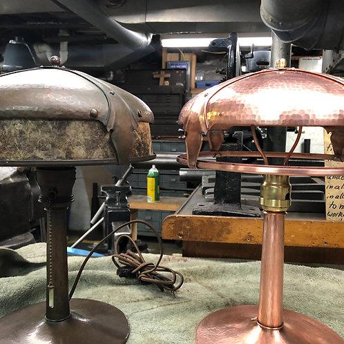 Reproduction of Original Roycroft Lamp