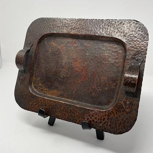 Benedict Studio Copper Tray with Handles