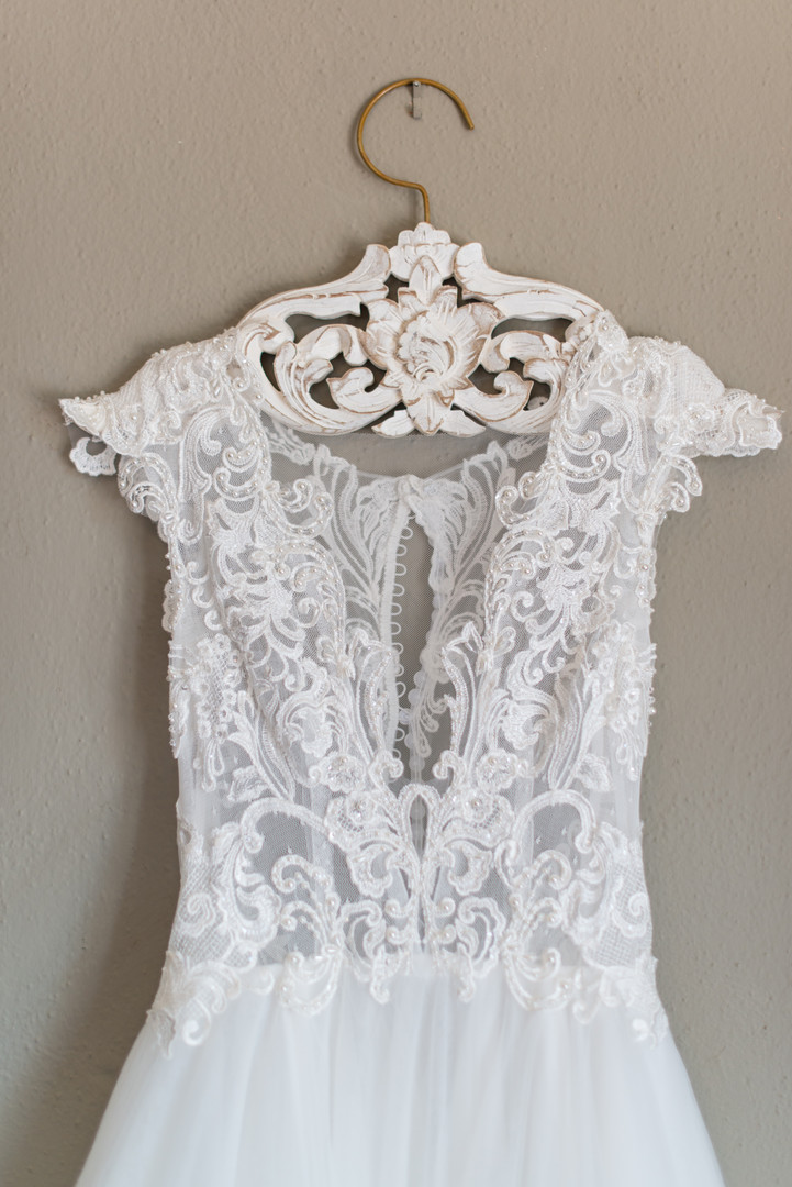 Intricate Lace & Length Bridal Alterations
