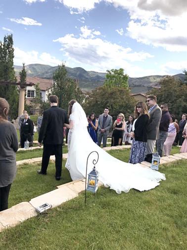 Re-made Mother's Wedding Dress
