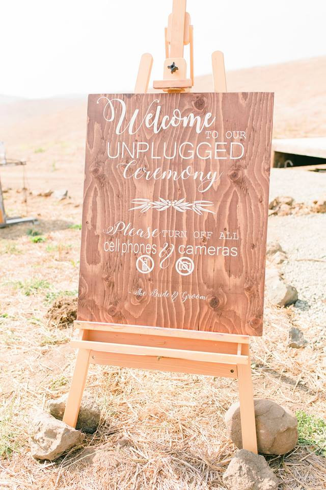 Custom Ceremony Signage