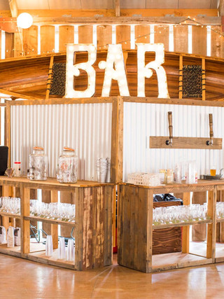 Handcrafted Rustic Bar