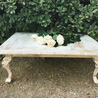 Our first table every built, is this beautiful, shabby shiek mini table.  It has a vintage look and absolutely beautifully made.  Dimensions:  Qty: 1