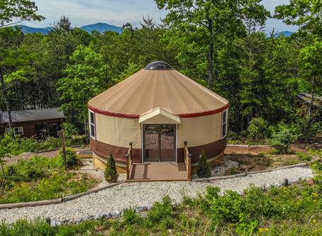 To Yurt or Not to Yurt.  That WAS the question...