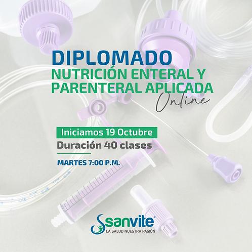 Diplomado Aplicado en Nutrición Enteral y Parenteral