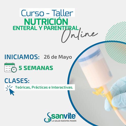 Curso - Taller en Nutrición Enteral y Parenteral ONLINE