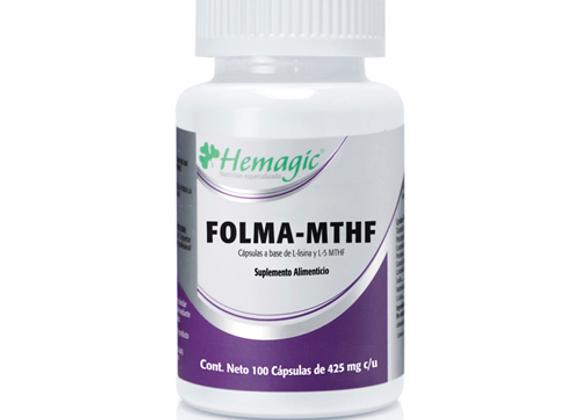 FOLMA MTHF 120 CAP