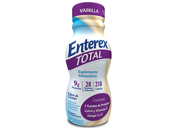 ENTEREX TOTAL VAINILLA LIQUIDO 237 ML