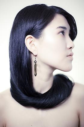 Art Nouveau Ohrring Anhänger