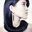 Thumbnail: Art Nouveau Ohrring Anhänger