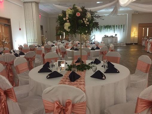 Banquet Table Design
